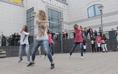 Акция «Танцевальный флешмоб»