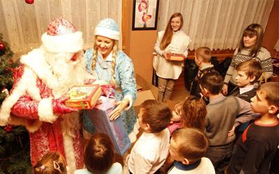 Акция «Подари Новый год детям»