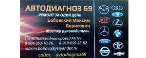 """Партнер Благотворительного Фонда """"Рука помощи"""" г. Тверь Автодиагноз 69"""